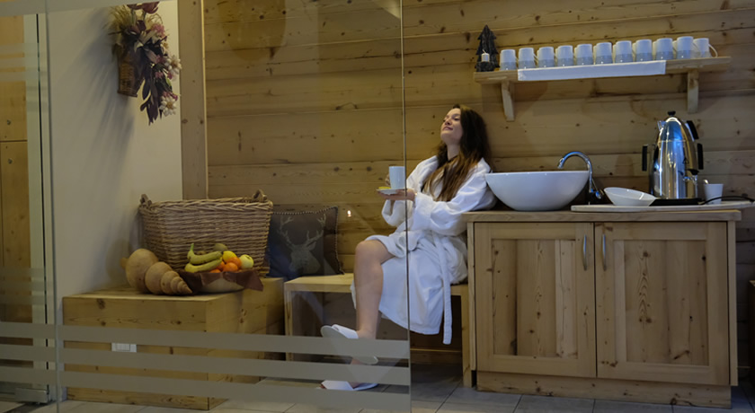 spa wellness center predazzo fiemme dolomiti